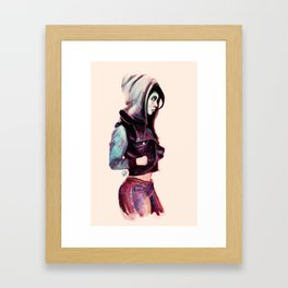 Swank Bank Framed Art Print