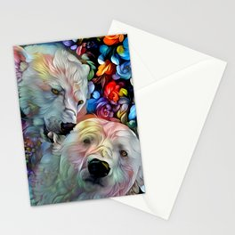 I'm Just Gonna Nibble on Your Ear Maybe a Little Bit... Stationery Cards