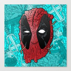 Been Deadpool Awhile  Canvas Print