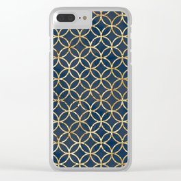 The Geometric Abstract Pattern Clear iPhone Case