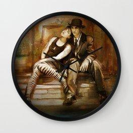 Dresden Dolls Wall Clock