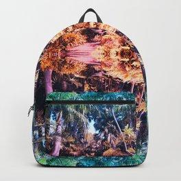 Acid Tropic Kaleidoscope Backpack