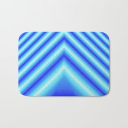 Blue Sabers Bath Mat