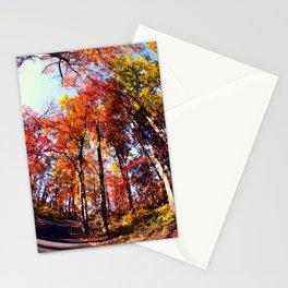 Fisheye Fall II Stationery Cards
