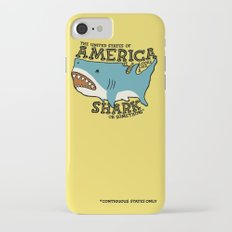 America…   it kinda looks like a shark or something iPhone 8 Slim Case