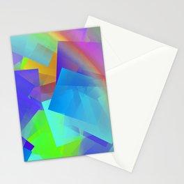 Sun, rain, and little rainbow ... Stationery Cards
