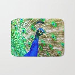 Peacock Pride Bath Mat