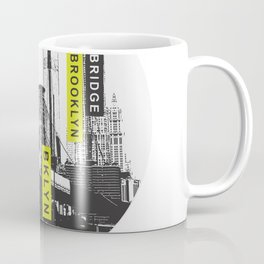 An other day in New York city 1986 - Brooklyn Bridge Coffee Mug
