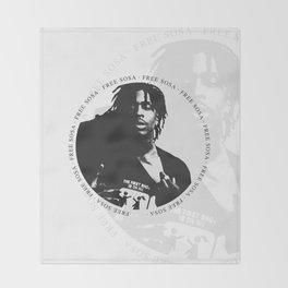 Free Sosa Throw Blanket