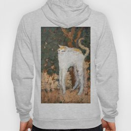 Pierre Bonnard - The White Cat / Le Chat Blanc Hoody