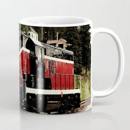 Black Hills Diesel Locmotive # 63 Abstract Coffee Mug