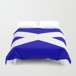 Scottish Flag Duvet Cover