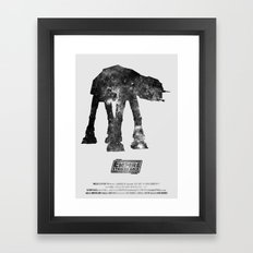 Star Wars - The Empire Strikes Back Framed Art Print