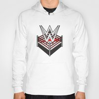 wwe Hoodies featuring WWE Ring Logo by CmOrigins