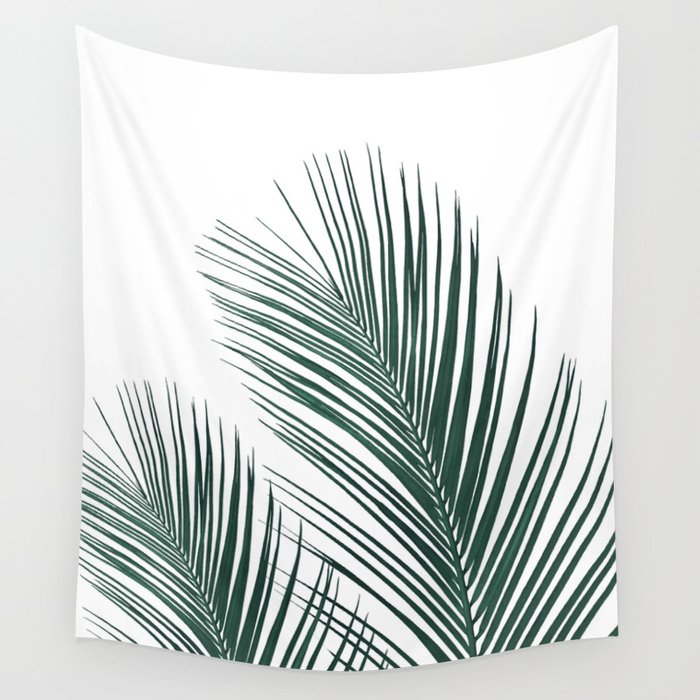Tropical Palm Leaves #2 #botanical #decor #art #society6 Wall Tapestry