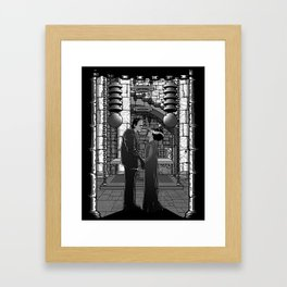The Monster's bride. Framed Art Print