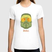 lebowski T-shirts featuring The Lebowski Series: Walter by Bubblegun