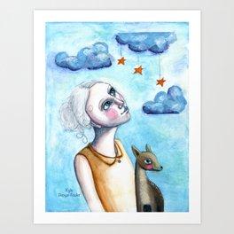 Deer to Dream by Kylie Fowler Art Print