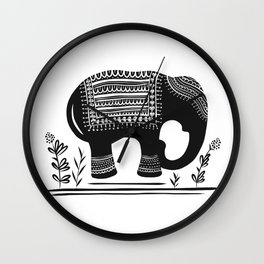 Lucky Elephant Wall Clock