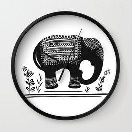 Lucky Elephant Wall Clock