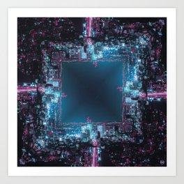 CyberpunkII/ Art Print
