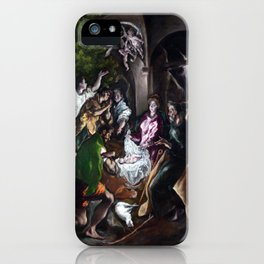 El Greco The Adoration of the Shepherds iPhone Case