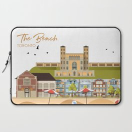 The Beach - Toronto Neighbourhood Laptop Sleeve