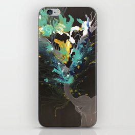 Happy Elephant iPhone Skin