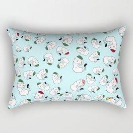 Mustelid xmas pattern #1 Rectangular Pillow