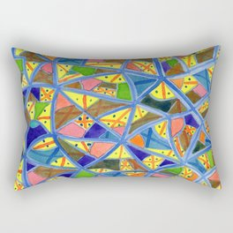 Celestrial Archaic Pattern Rectangular Pillow