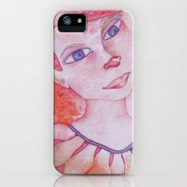 Le clown acrobate iPhone Case