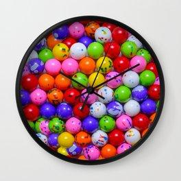 Jawbreaker Real Candy Pattern Wall Clock