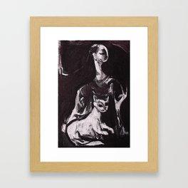 Cattallina Framed Art Print