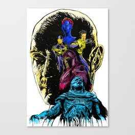 At War With A God: Apocalypse Canvas Print