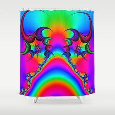 Sacred Rainbow Shower Curtain