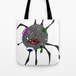 Mutated Spider Tote Bag