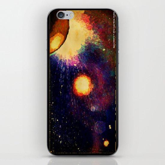 SPACE 04-25-12 iPhone Skin
