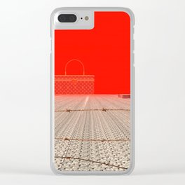 Squared:Country Clear iPhone Case