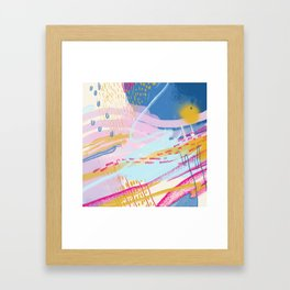Totemo Genki Framed Art Print