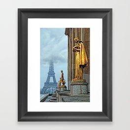 femmes parisiennes III Framed Art Print