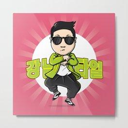 Oppa Gangnam Style Metal Print