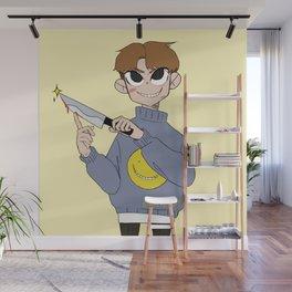 Knife Boy Wall Mural