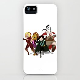 """Run Away!"" - Dungeons & Doritos iPhone Case"