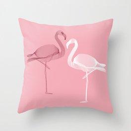Flamingo 1 Throw Pillow