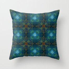 Geometry of Seeds Throw Pillow