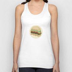 Totally a Burger Unisex Tank Top
