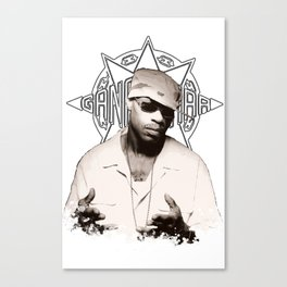 Guru // GangStarr Canvas Print