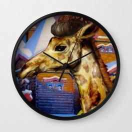 Giraffe Monomah Wall Clock