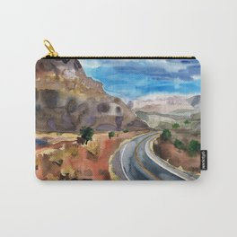 Road to the Canyon Carry-All Pouch
