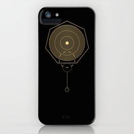 Screw Gold Geometry iPhone Case